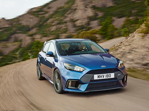 Ford Focus RS: 266 km/h Topspeed, in 4,7 Sekunden von 0 auf 100 km/h - Foto: Ford
