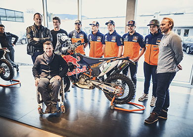 KTM Rally Factory Racing Team 2016 - Foto: KTM Sebas Romero