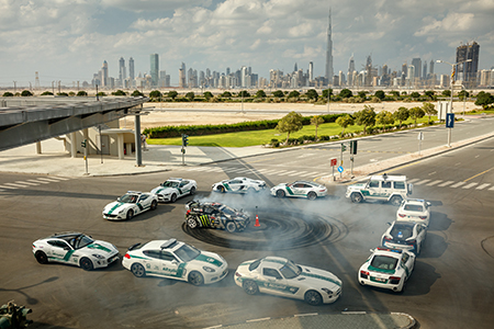 Ken Block tobt sich im 8. Gymkhana Video in Dubai aus<br>Foto: Hoonigan Racing Division