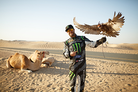 Ken Block in Dubai <br>Foto: Hoonigan Racing Division