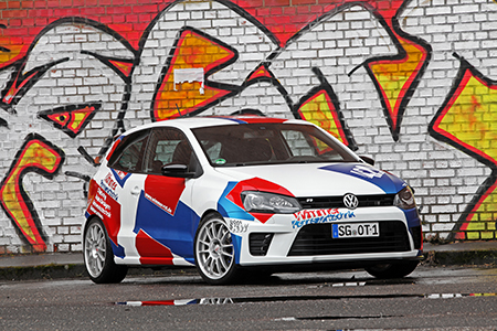420 PS IM VW POLO - MADE BY WIMMER<br>Foto: Jordi Miranda