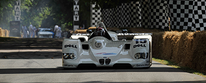 BMW V12 LMR at good wood festival - Foto: BMW Motorsport