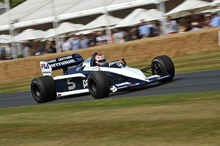 Brabham BMW BT 52 at good wood festival<br>Foto: BMW-Motorsport