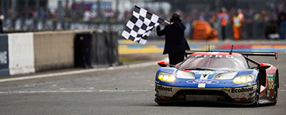 Ford wins in Le Mans Finishline - Foto: Ford