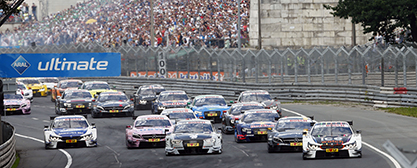 DTM Start am Norisring - Foto: DTM media