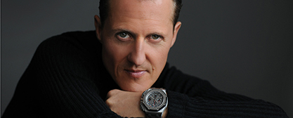 Michael Schumacher - Keep Fighting - Foto: Audemars/michael-schumacher.de