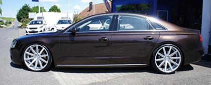 Audi A8 Auf 22 Zoll Corspeed Deville