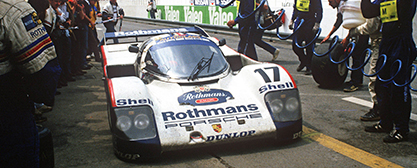 F1 GP AUT 2017 Legends Parade Porsche 962c c Porsche