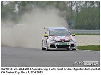 Castrol Cup - WTCC Slovakiaring 2013