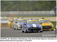 Bohemia Renault Clio Cup Slovakiaring 2013