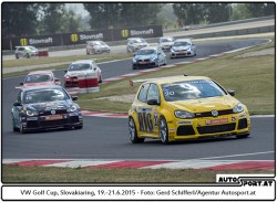 VW Golf Cup Slovakiaring 2015