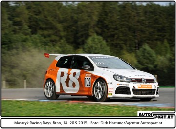 VW Golf Cup - Masaryk Racing Days 2015
