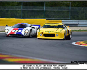 Six Hours Spa 2016 - FIA Historic Sports Car
