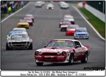 Six Hours Spa 2016 - Historic Touring Cars