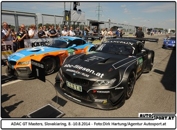 ADAC GT Masters Slovakiaring 2014