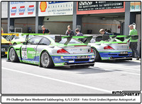P9-Challenge Race Weekend Salzburgring 2014